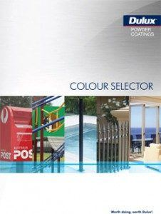 Dulux powder coating chart pdf