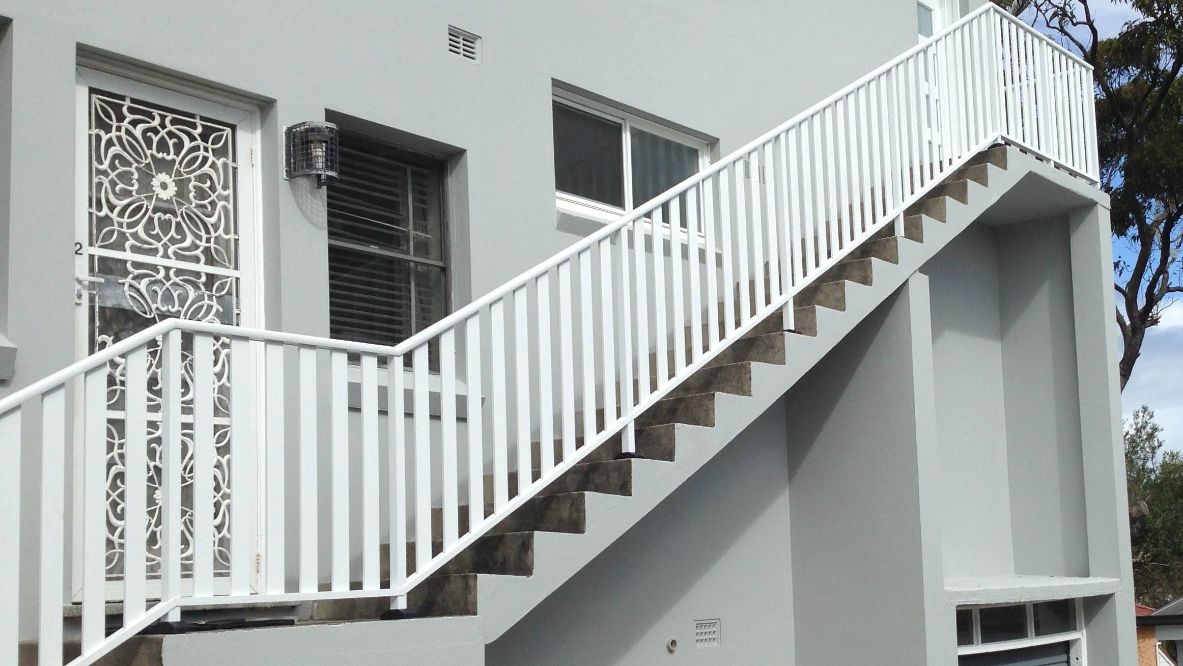 Tubular Balustrade example 1