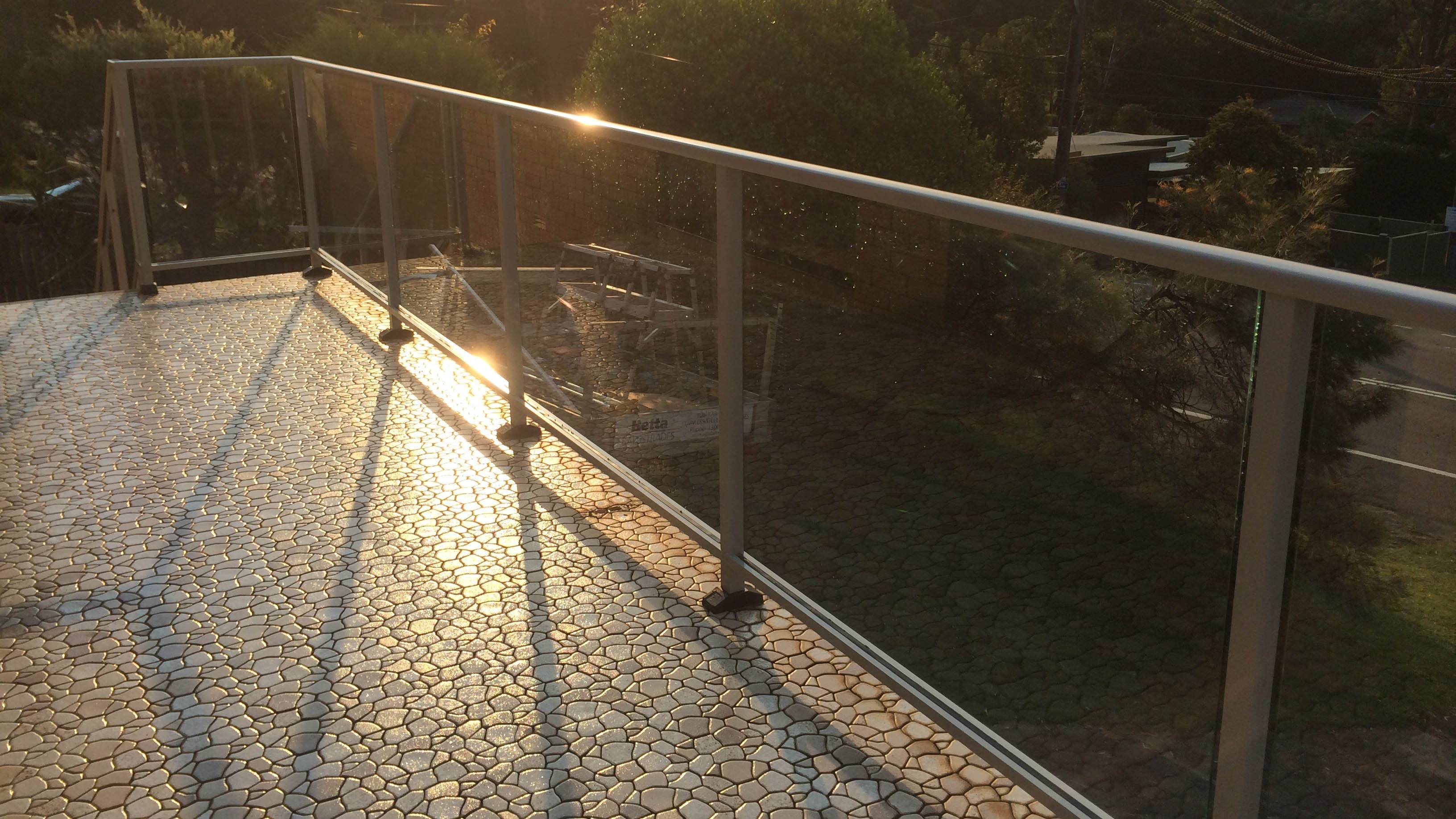 Glass Balustrade example 21