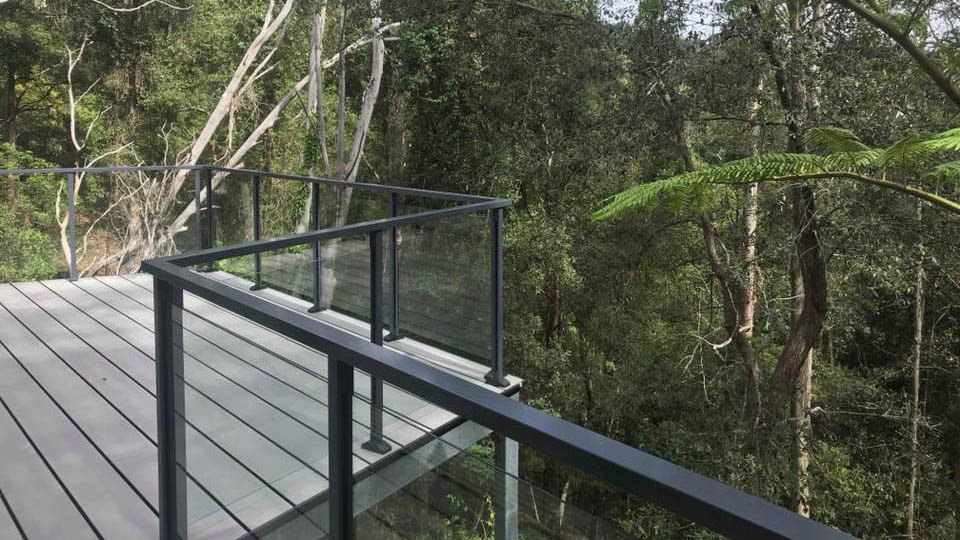 Glass Balustrade example 30