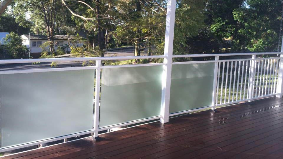 Glass Balustrade example 4