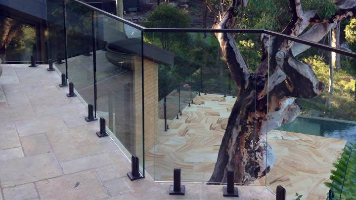 Glass Balustrade example 44