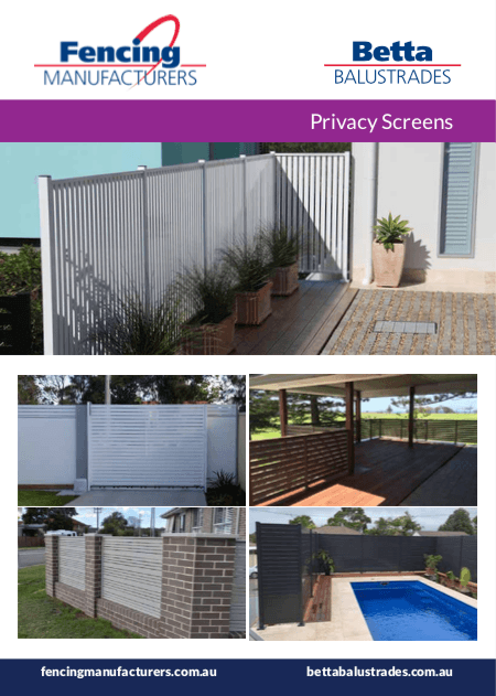 Privacy Screens Preview